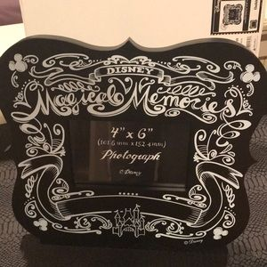 Disney Magical Memories Black Chalkboard Frame New